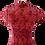 Thumbnail: Almandine Rosa Floral Lace Cheongsam Dress