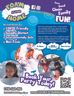 Foam At Your Home Party