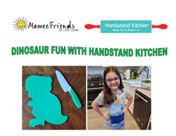 dinosaur fun with handstand kitchen 1