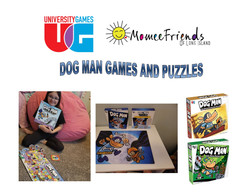 dog man puzzles and games