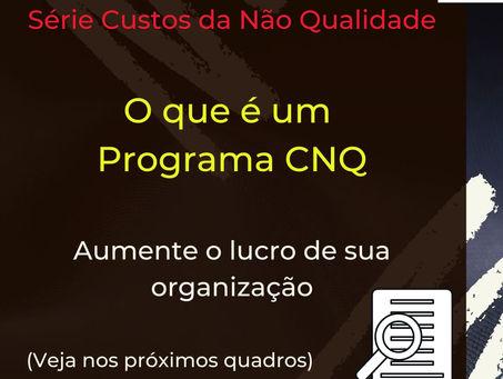 O que é um programa CNQ (Custos da Não Qualidade)
