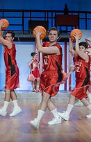 """Carver Duncan as Troy Bolton in """"High School Musical"""" Enlightened Theatrics Photo Credit to www.bluecatz.com"""