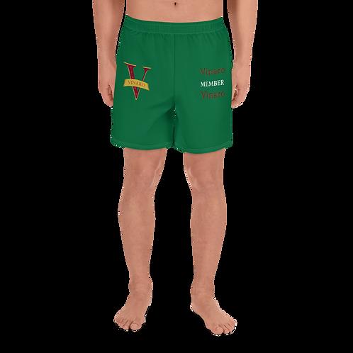 Vinaro Men's Athletic Long Shorts