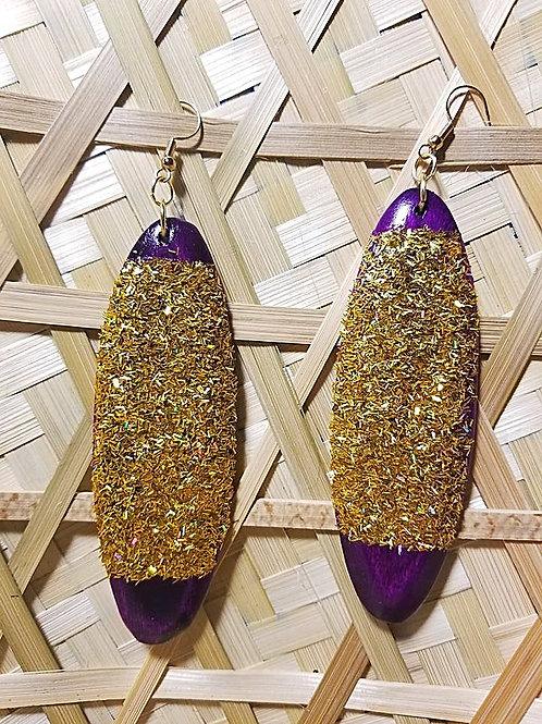 Gold'n Purple Oval