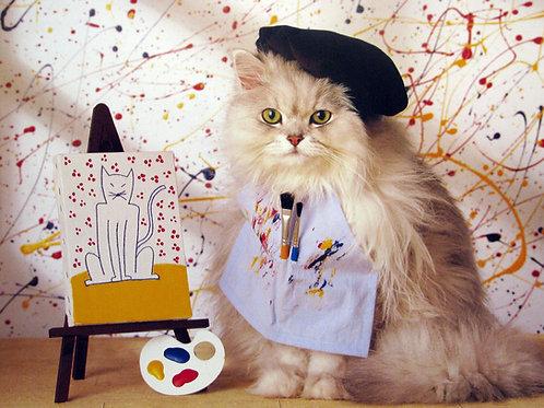 Kitten Artist