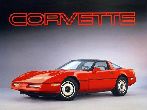 16x20 Corvette
