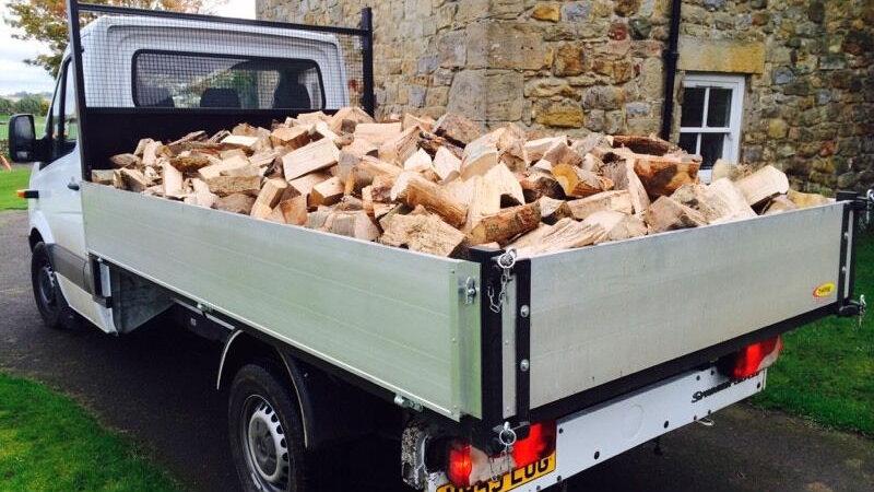 Loose KilnDried Birch. Price per 1m3