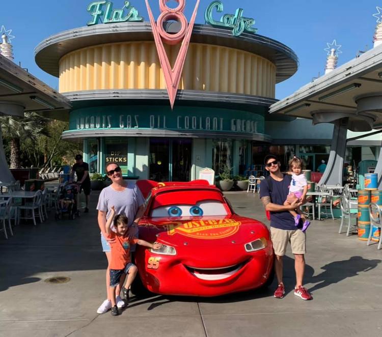 Disney Land - Cars World.