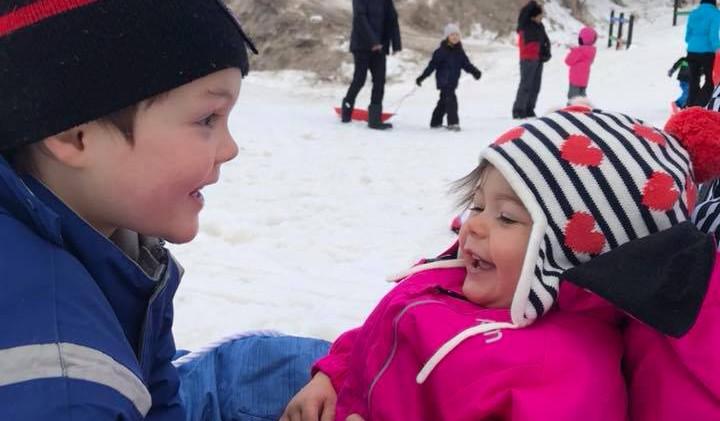 family snow fun @ buller
