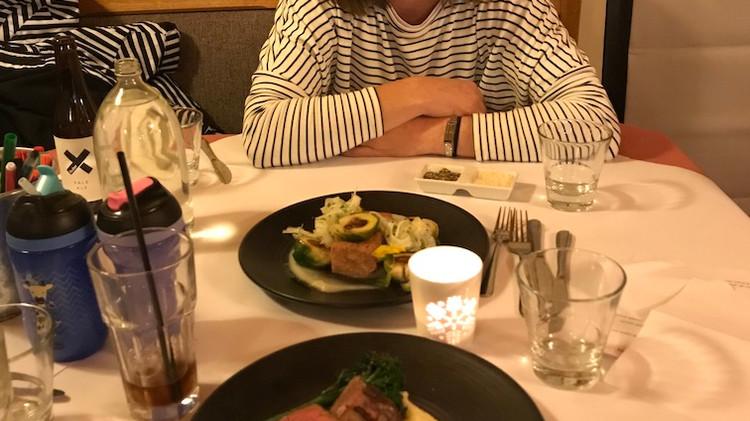Dinner on Mt Buller