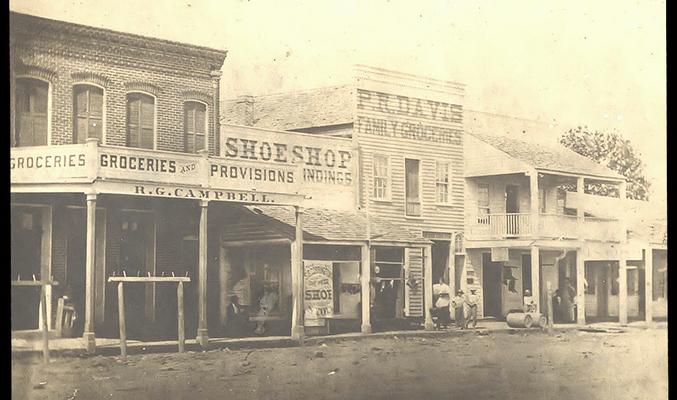 Garrison Ave., Fort Smith, Arkansas, circa 1881.