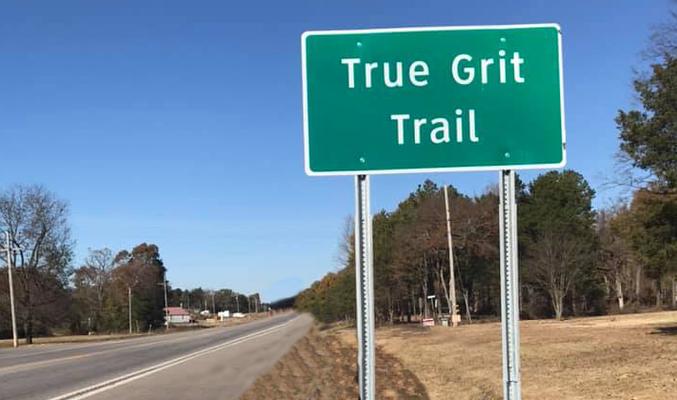 The True Grit Trail begins in Dardanelle.
