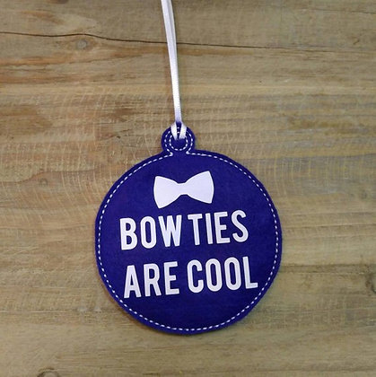 Bowties are Cool Ornament