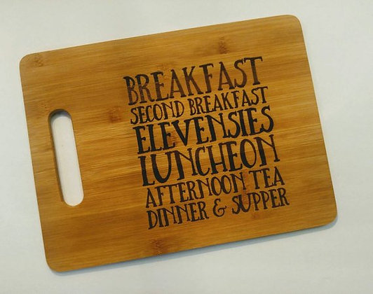 Hobbit Meals Cutting Board