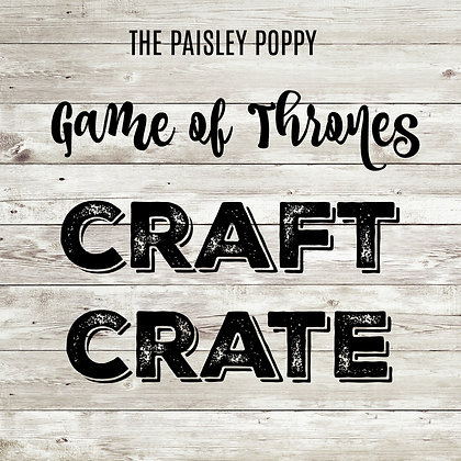 Game of Thrones Craft Crate Mystery Box