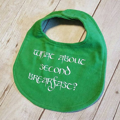 Second Breakfast Bib