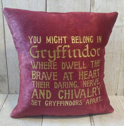 Gryffindor Small Pillow
