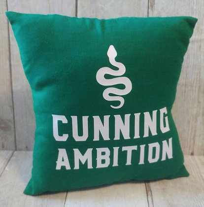 Cunning Ambition Small Pillow