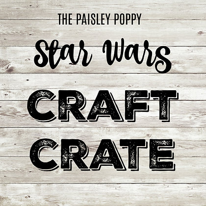 Star Wars Craft Crate Mystery Box