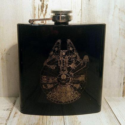 Millennium Falcon Flask