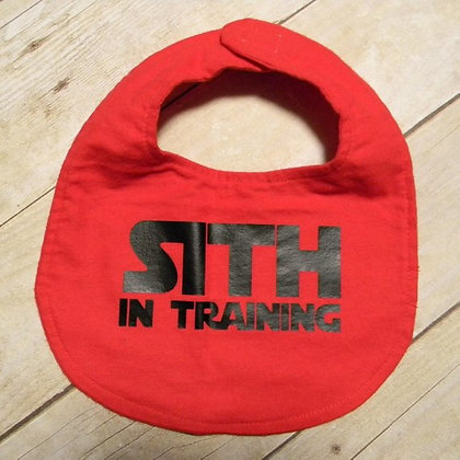 Sith in Training Bib