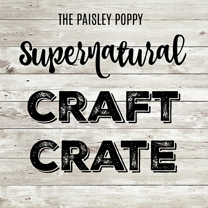 Supernatural Craft Crate Mystery Box