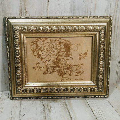 Middle Earth Map Insert