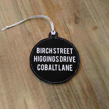 Jessica Jones Birch Street Ornament