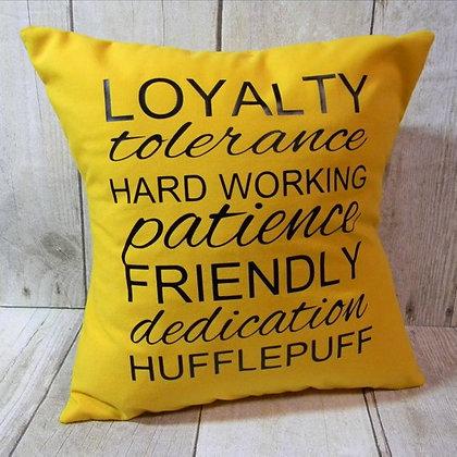 Hufflepuff Small Pillow