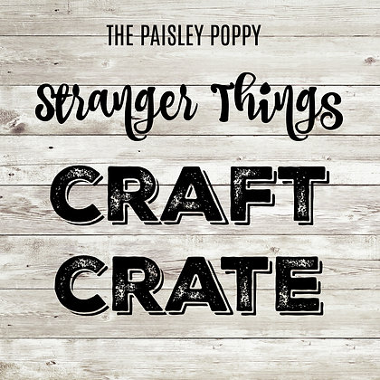 Stranger Things Craft Crate Mystery Box