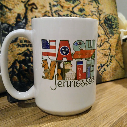 City Artwork 15oz Coffee Mug