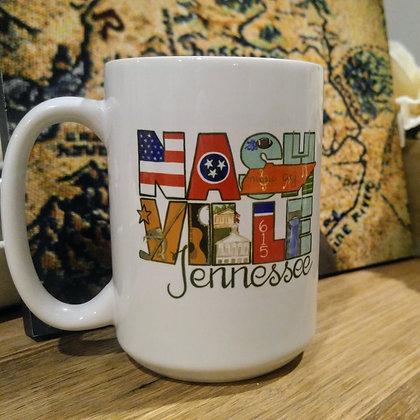City Artwork 15oz Coffee Mug