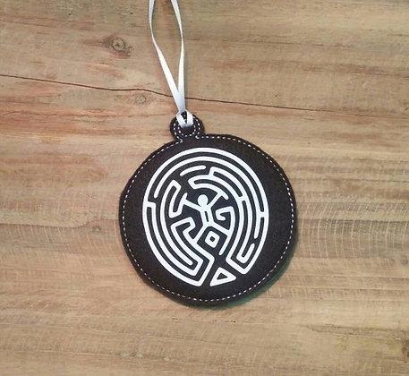 Westworld Maze Ornament