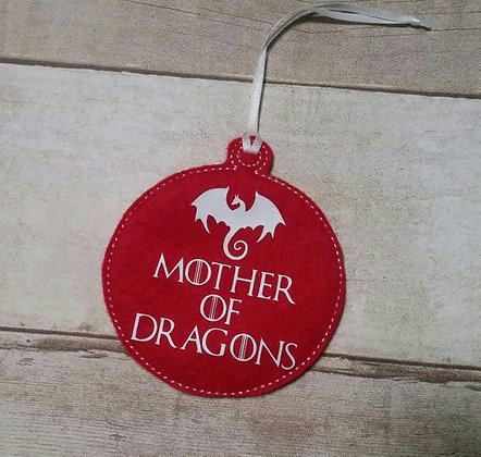 Mother of Dragons Ornament