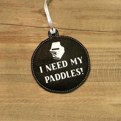 Stranger Things Paddles Ornament