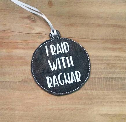 I Raid with Ragnar Ornament