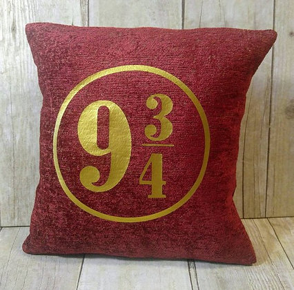 Platform 9 3/4 Small Pillow