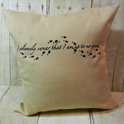 I Solemnly Swear Small Pillow