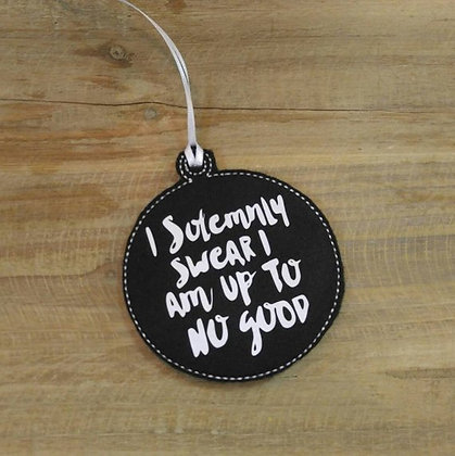 I Solemnly Swear Ornament