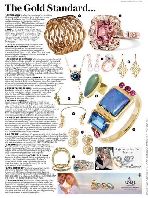"Vogue Bridal - Sept/Oct 2019 ""The Gold Standard"""