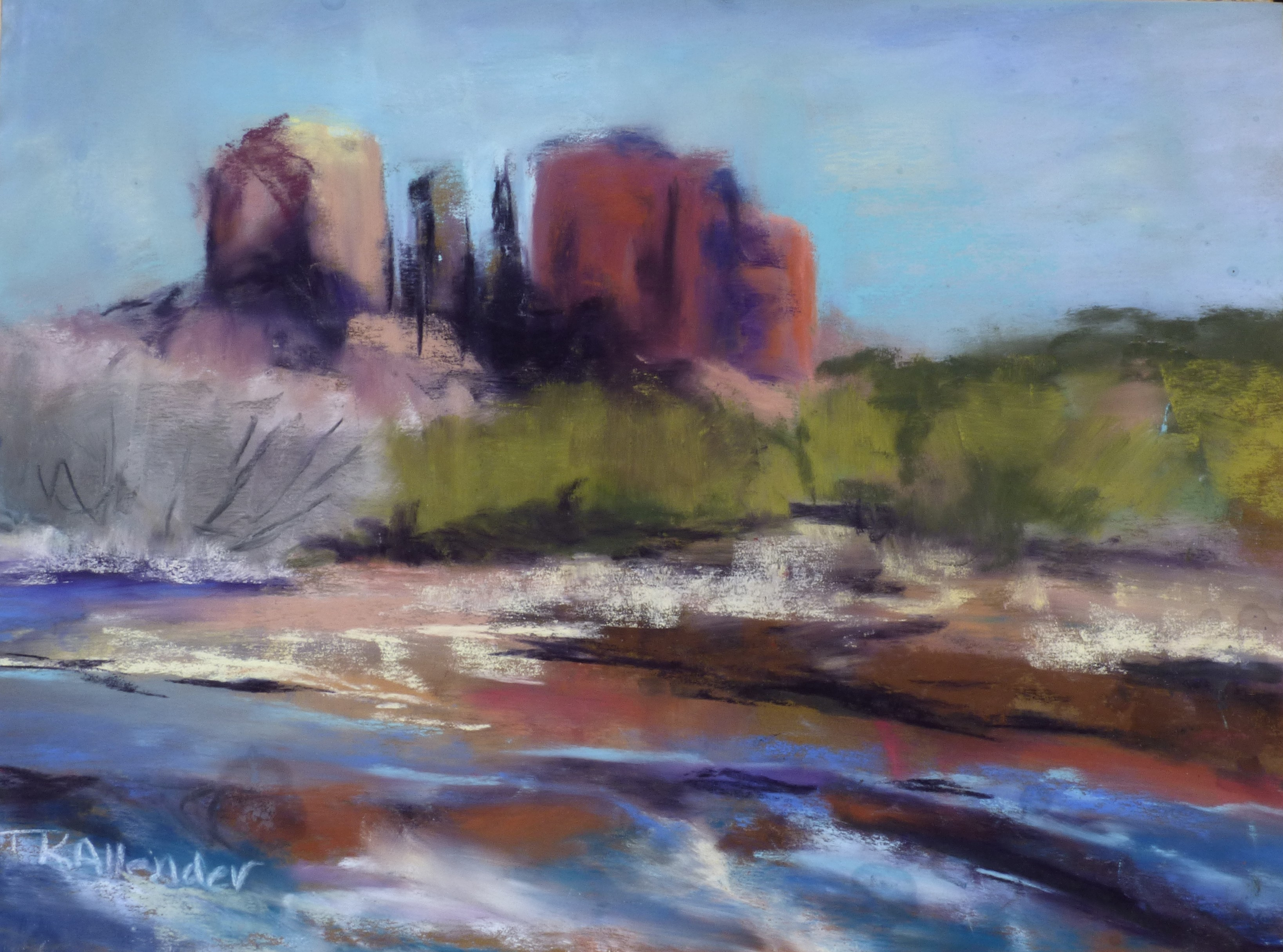 Sedona Towers - 8 x 10