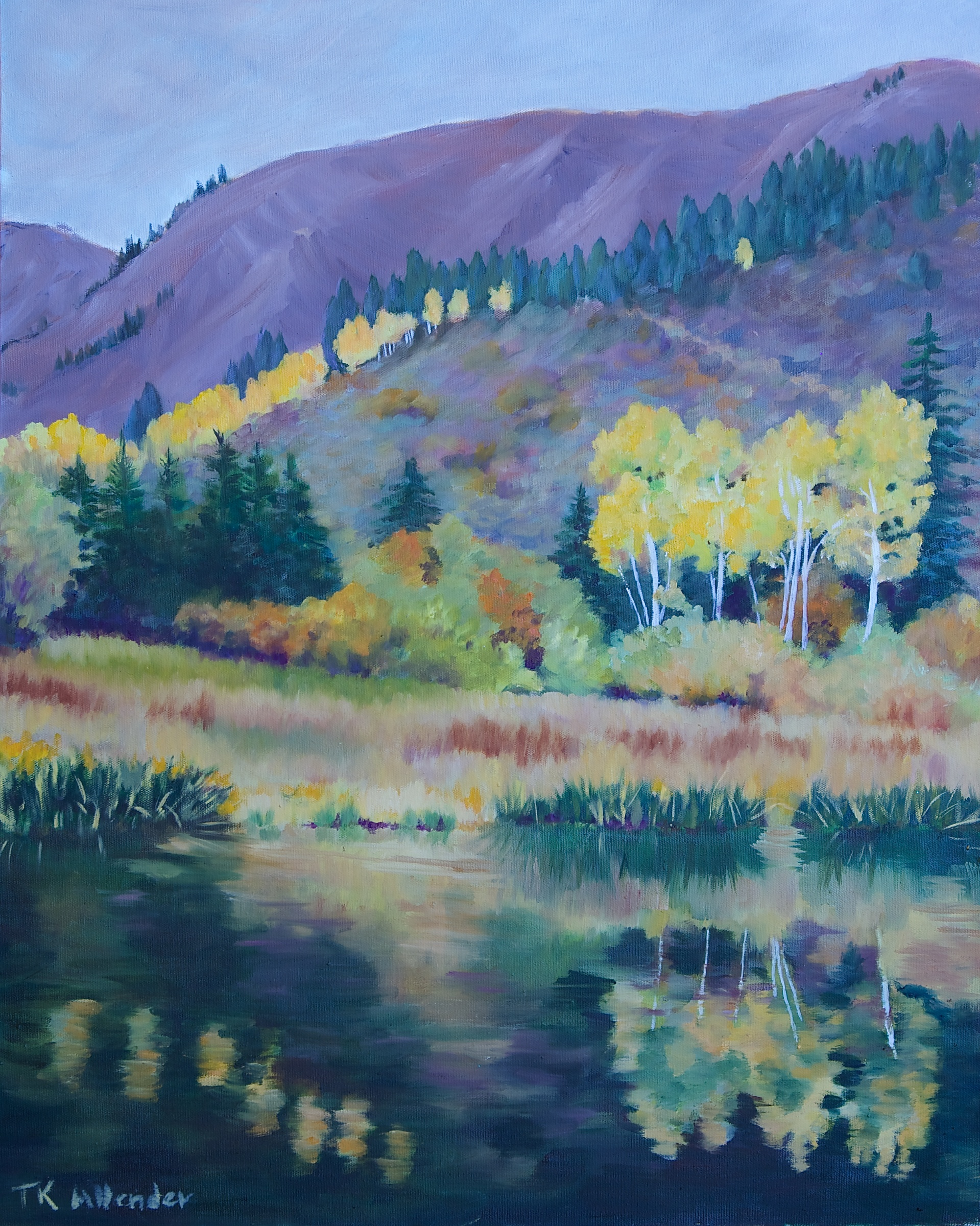Buck Creek Pond - 24 x 30