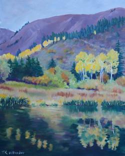 Buck Creek Pond - 24 x 30
