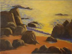Escondida Sunset - 18 x 24