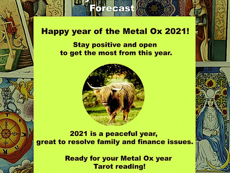 Happy year of the Metal Ox!