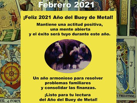 ¡Feliz 2021 Año del Buey de Metal!