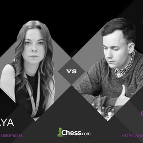 Rematch vs WGM Dina Belenkaya