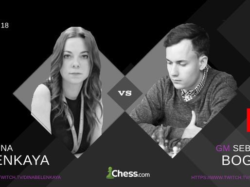 Showmatch vs WGM Dina Belenkaya