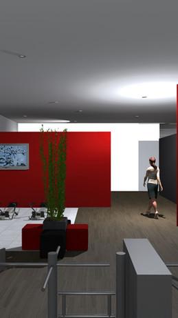 Salle de sport Ryckwaert Chevignard Architectes