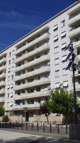 façade sud existante